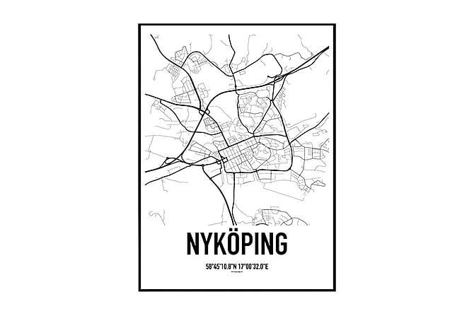 Poster Nykoping Karta Chilli Se