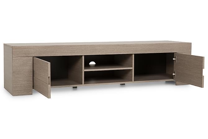 tv benk eos stor 190 cm gr eik melamin. Black Bedroom Furniture Sets. Home Design Ideas